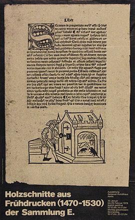 Leemann Chris - Holzschnitte aus Frühdrucken der Sammlung E.