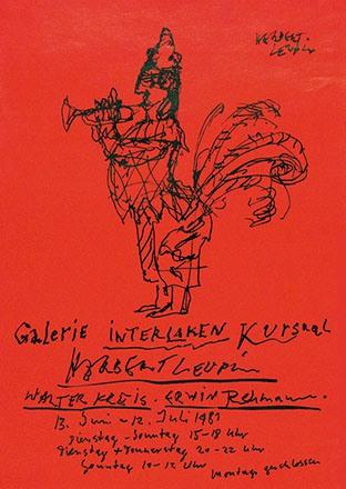 Leupin Herbert - Herbert Leupin - Walter Kreis - Erwin Rehmann