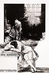 Anonym - Francisco de Goya - Rembrandt