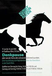 Hunziker Jürg Peter - Denkpause - Kunstverein Olten