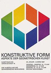 Minder H.R. - Konstruktive Form - Kunsthaus Zug