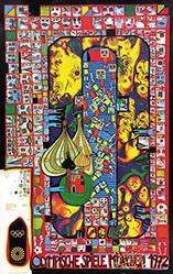 Hundertwasser (Stowasser Friedrich) - Olympische Spiele München