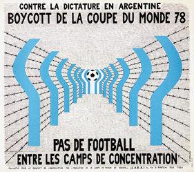 Batellier J.F. - Boycott de la Coupe du Monde
