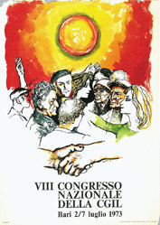 Spada Fratelli - VIII Congresso nazionale della CGIL