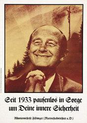 Staeck Klaus - Seit 1933 pausenlos in Sorge .....