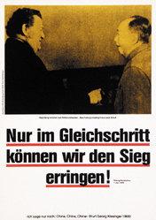 Staeck Klaus - Nur im Gleichschritt .....
