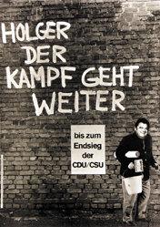 Staeck Klaus - Holger der Kampf geht weiter