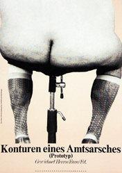 Staeck Klaus - Konturen des Amtsarsches