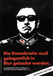 Staeck Klaus - Die Demokratie muss gelegentlich .....