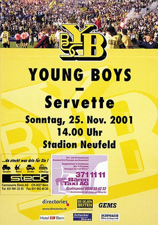 Anonym - BSC Young Boys - Servette
