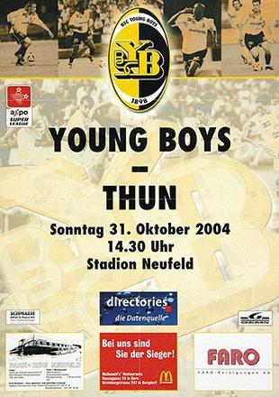 Anonym - BSC Young Boys - Thun