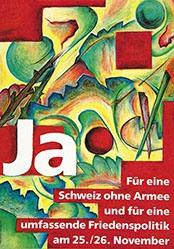 Atelier Müller Lütolf - Für eine Schweiz ohne Armee