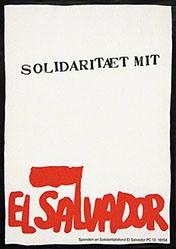 Anonym - Solidarität mit El Salvador