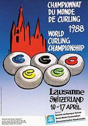 Riese - Championnat du Monde de Curling