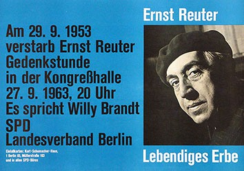 Anonym - Gedenkstunde Ernst Reuter
