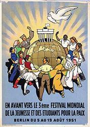 Anonym - Festa de la jeunesse pour la paix