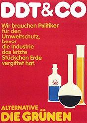 Grafik Werkstatt Bielefeld - DDT & Co. - Die Grünen