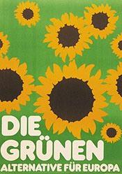 Grafik Werkstatt Bielefeld - Alternative für Deutschland - Die Grünen