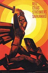Kréslins A. - Russisches Propagandaplakat