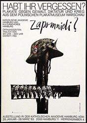 Cieslewicz Roman - Habt Ihr vergessen - Plakate gegen Gewalt