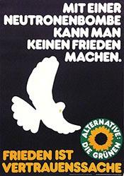 Grafik Werkstatt Bielefeld - Mit einer Neutronenbombe ... - Die Grünen