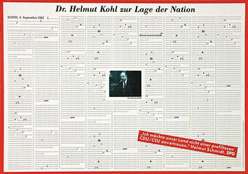 GGK Frankfurt - Dr. Helmuth Kohl zur Lage der Nation - SPD