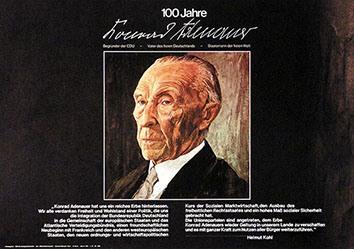 Anonym - 100 Jahre Konrad Adenauer