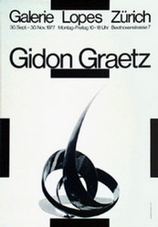 Bill Max - Gidon Graetz - Galerie Zürich