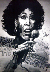 Bundi Stephan - Betty Carter and her Trio