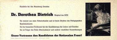 Anonym - Dr. Dorothea Dietrich
