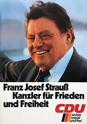 Anonym - CDU - Franz Josef Strauss