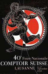 Erni Hans - 40e Comptoir Suisse Lausanne