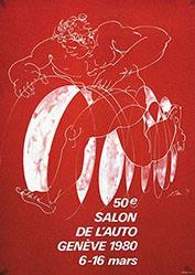 Erni Hans - 50e Salon de l'auto Genève