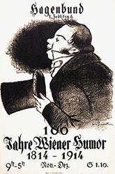 Monogramm P.L. - Sagenbund - Wiener Humor