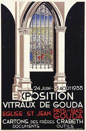 Hogervorst W. - Exposition Vitraux de Gouda