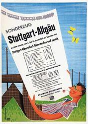 Grave / Schmandt - Deutsche Bundesbahn - Sonderzug