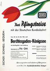 Strom - Deutsche Bundesbahn - Pfingstreise