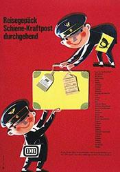 Schmandt Hans - Deutsche Bundesbahn - Kraftpost