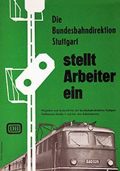 Schmandt Hans - Deutsche Bundesbahn - Arbeitsplatz
