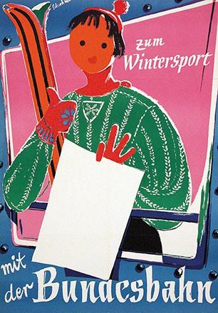 Schwabe - Deutsche Bundesbahn - Wintersport