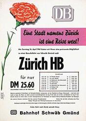 Ebert - Deutsche Bundesbahn - Zürich