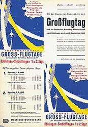 Anonym - Deutsche Bundesbahn - Grossflugtag