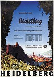 Wiertz Jupp - Deutsche Bundesbahn - Heidelberg