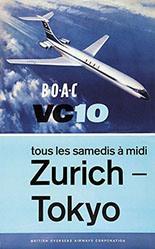 Woutton - BOAC Zurich-Tokyo