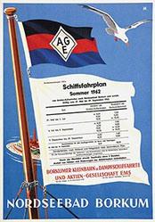 Monogramm M. - Nordseebad Borkum