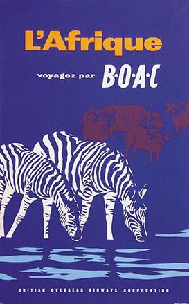 Anonym - BOAC - Afrique