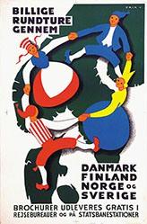 Erik - Danmark, Finland, Norge og Sverige