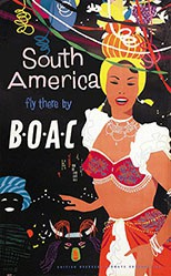 Anonym - BOAC fly to South America