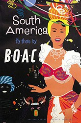 Anonym - BOAC fly South America