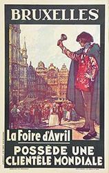 Anonym - Bruxelles - La Foire d'Avril
